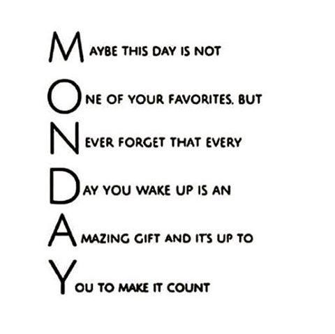 Motivational Monday Quotes, Happy Monday Inspirational