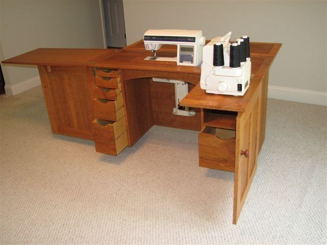 17 Best images about Sewing Cabinet on Pinterest | Horns, Fashion sewing  and Sewing machine tables