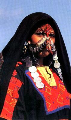 Saudi Arabia   Negev Bedouin woman. Ber Sheva region