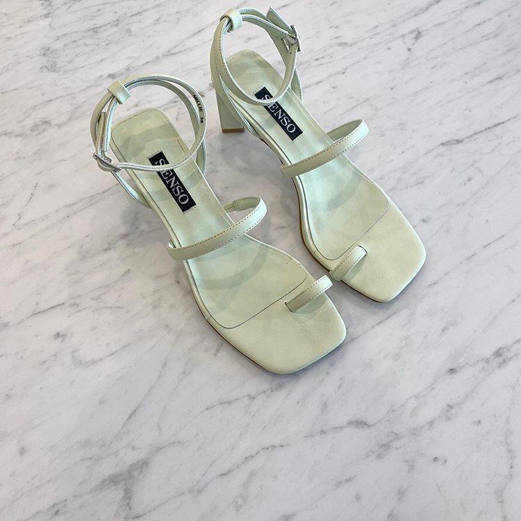 Senso Millie heel in Lime $229