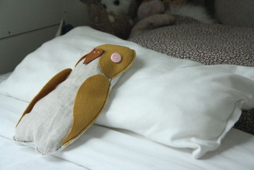 felt owl softie- Holly Marder