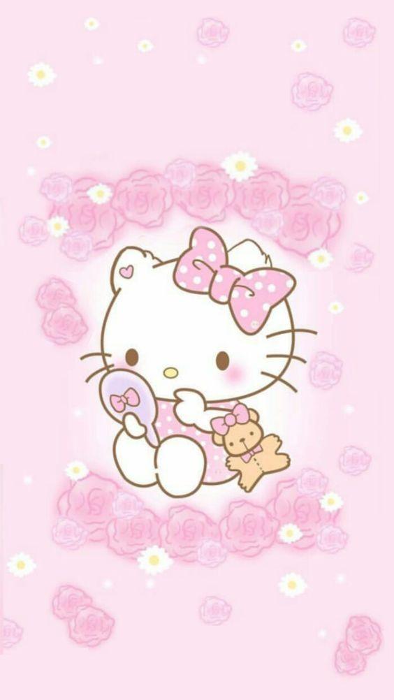 555 Gambar Hello Kitty Terlengkap Cantik Pink Lucu Terbaru Imut Dengan Gambar Anak Kucing Hello Kitty Wallpaper Iphone