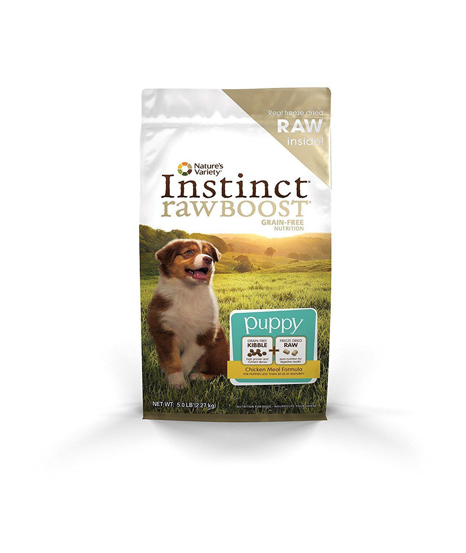 Nature S Variety Instinct Raw Boost Puppy Grain Free Chicken Meal