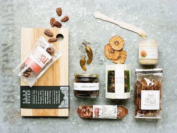 EVERYTHING BUT THE CHEESE GIFT BOX  by: Eat Boutique  $75