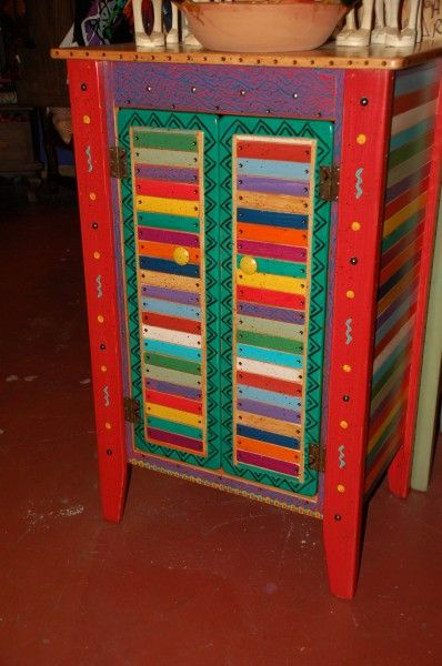 painting media furniture folk art painted furniture beautiful cabinet in basura stick