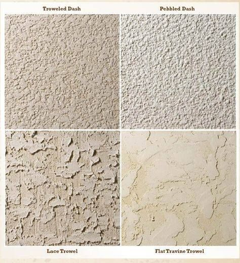 Did You Know That Stucco Comes In A Variety Of Textures