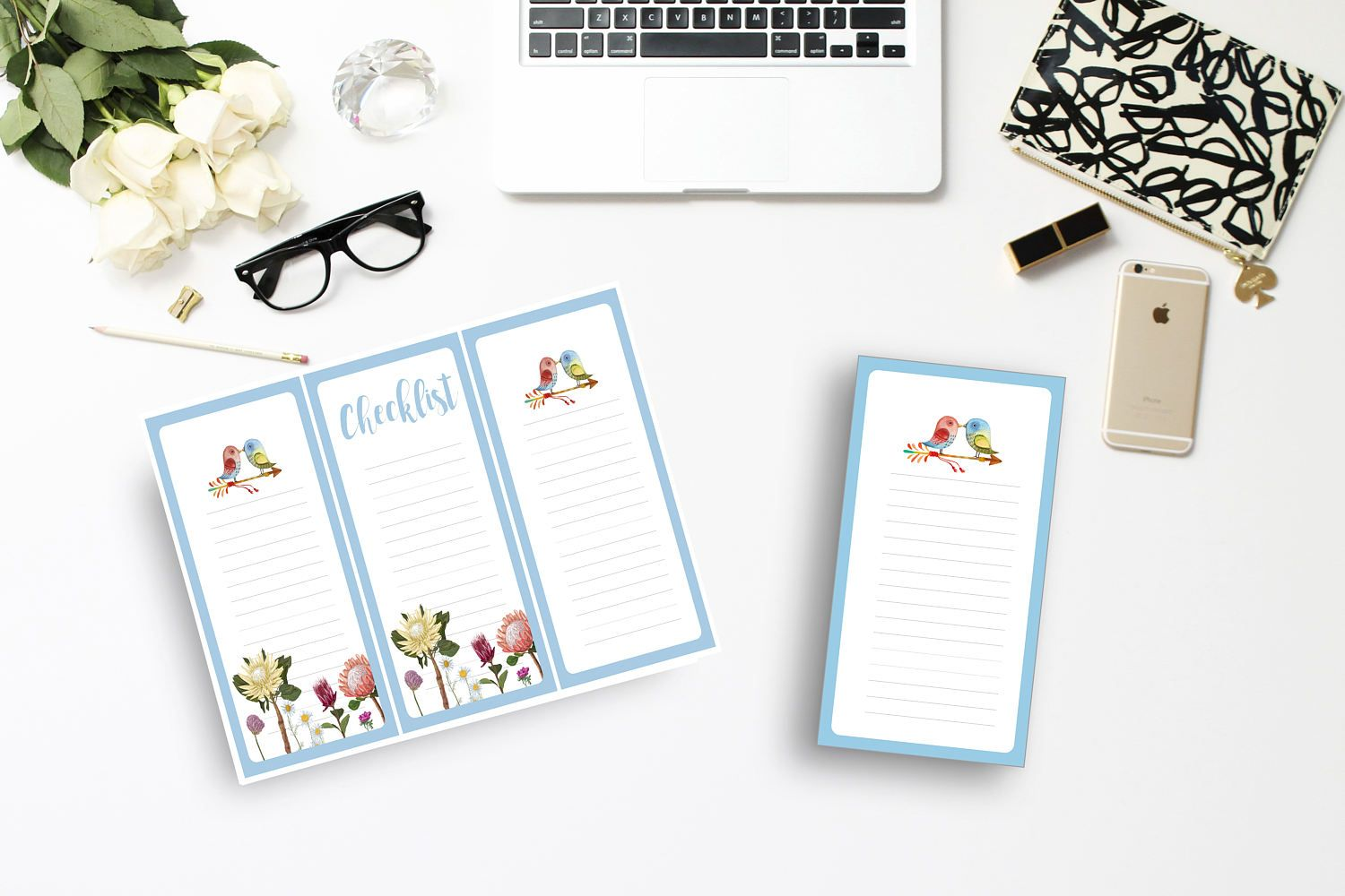 Printable Notepad Paper Adorable Printable Note Paperblueshopping List Notesto Do Listchecklist .