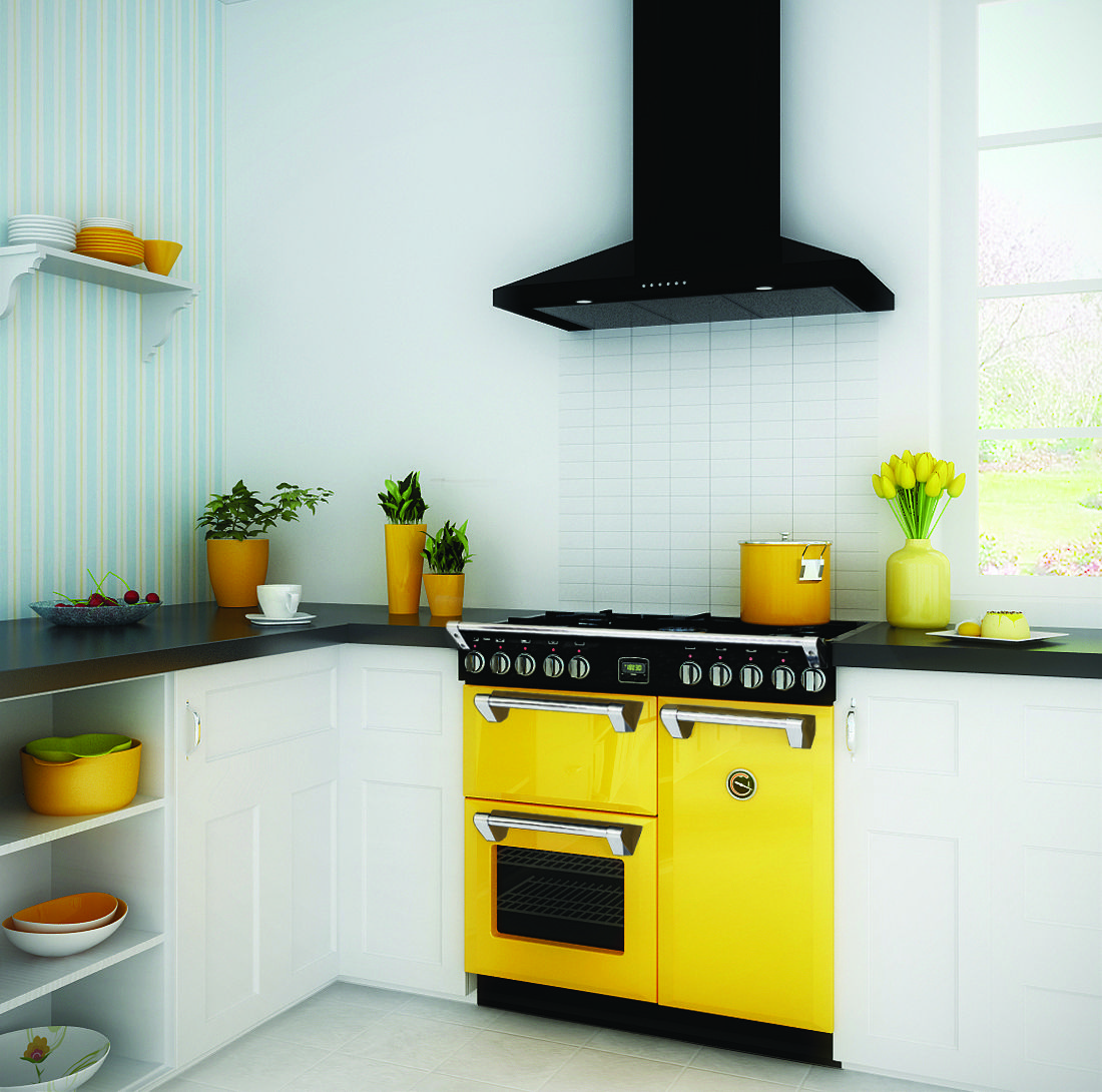 Belling displayed these colourful ovens at the 2013 Auckland Home ...