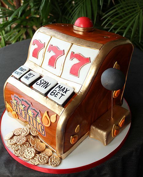 A Slot Machine Cake Will Make A Great Birthday Surprise