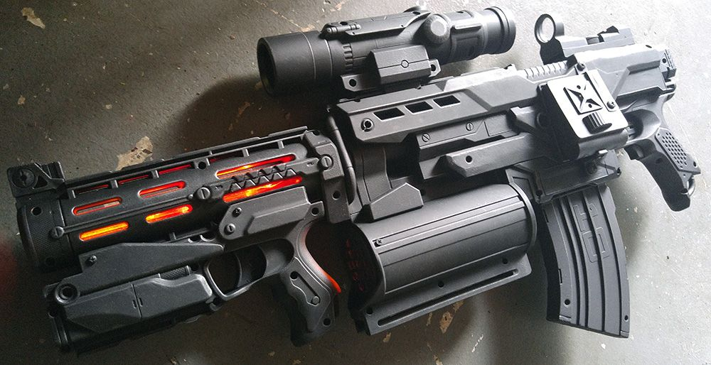 Avengers Nerf Gun Mod
