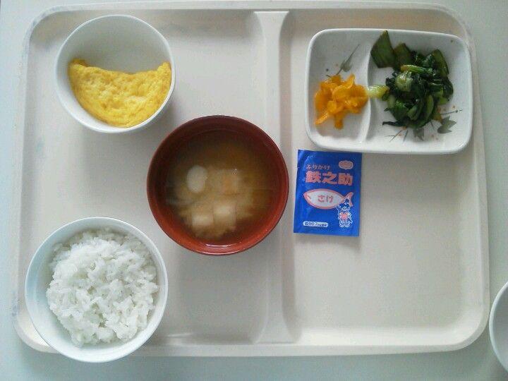 121029_1入院6日目朝食。