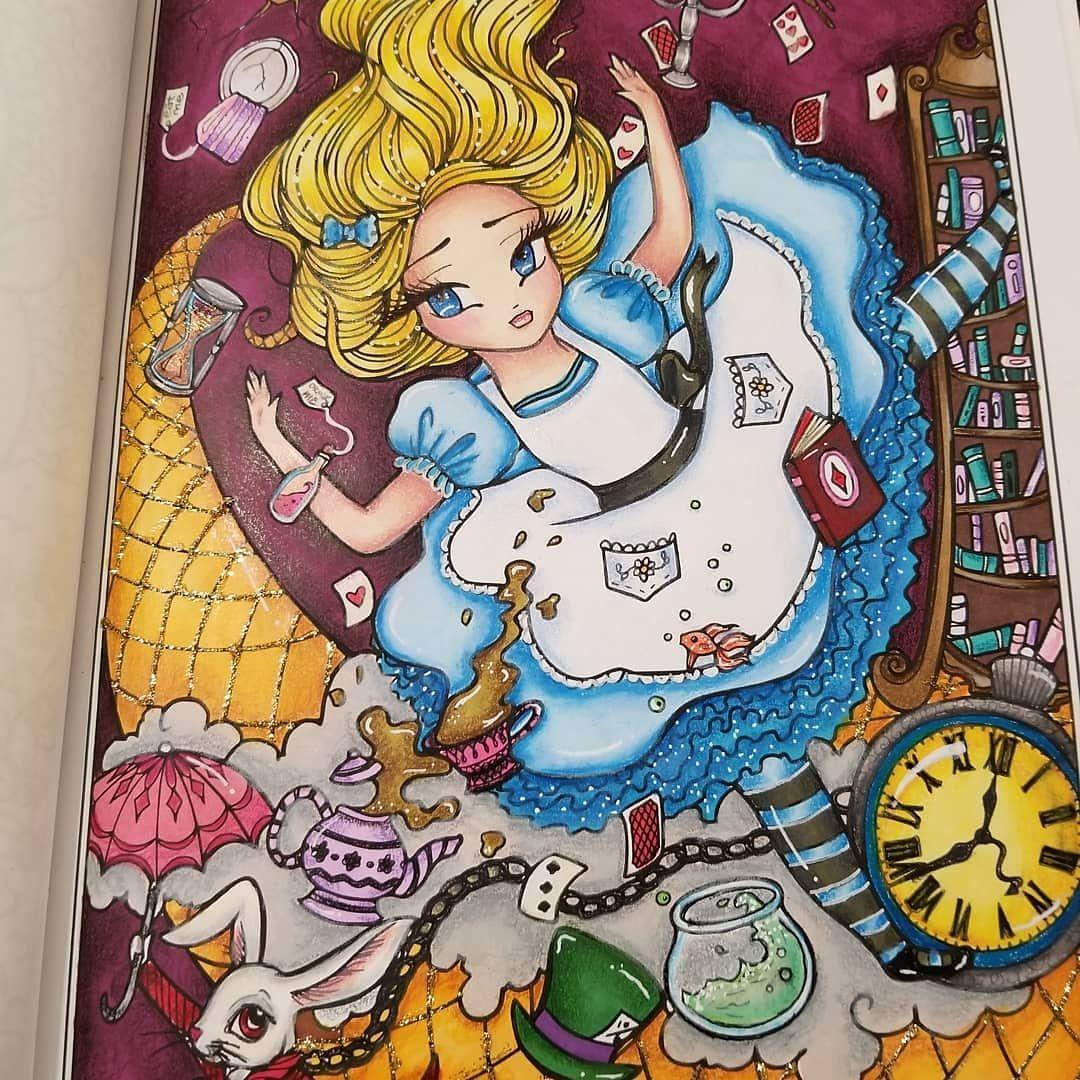 Down the rabbit hole by hannah lynn ohuhu marlers prismacolors