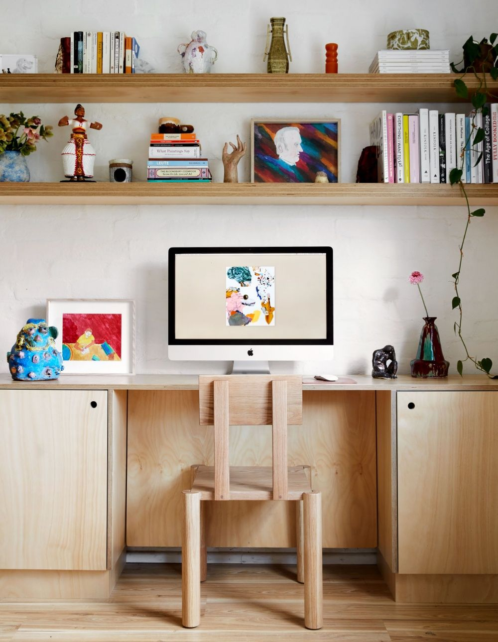 Our Art Director S Tiny Terrazzo Palazzo Home Office