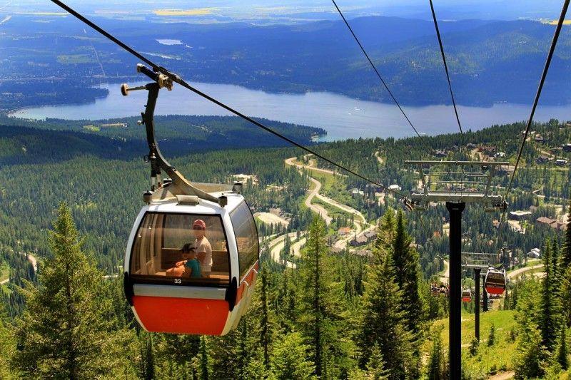 Gondola to top - Whitefish Mtn Resort