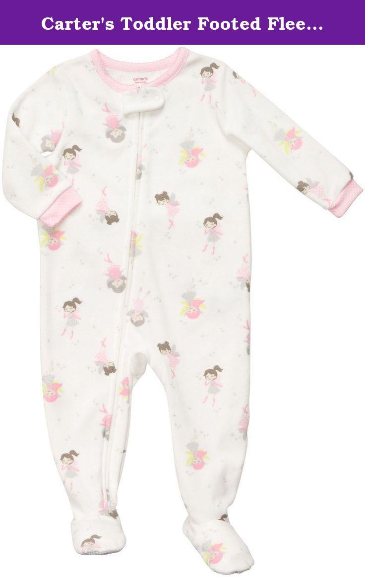 6e2dd2d097cb Carter s Toddler Footed Fleece Sleeper - Fairy Print-2T. Carters Tod ...
