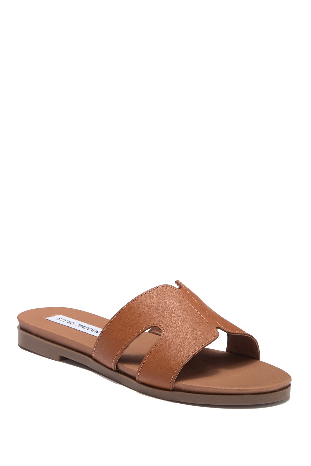 57d05911f1e4e Hoku Leather Slide Sandal in 2019 | Over 50 Fashion - Summer Style ...