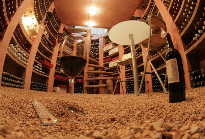 Awesome Sol Cave A Vin #4: Construire Sa Cave à Vin Enterrée Avec Hélicave U2013 BatiPresse