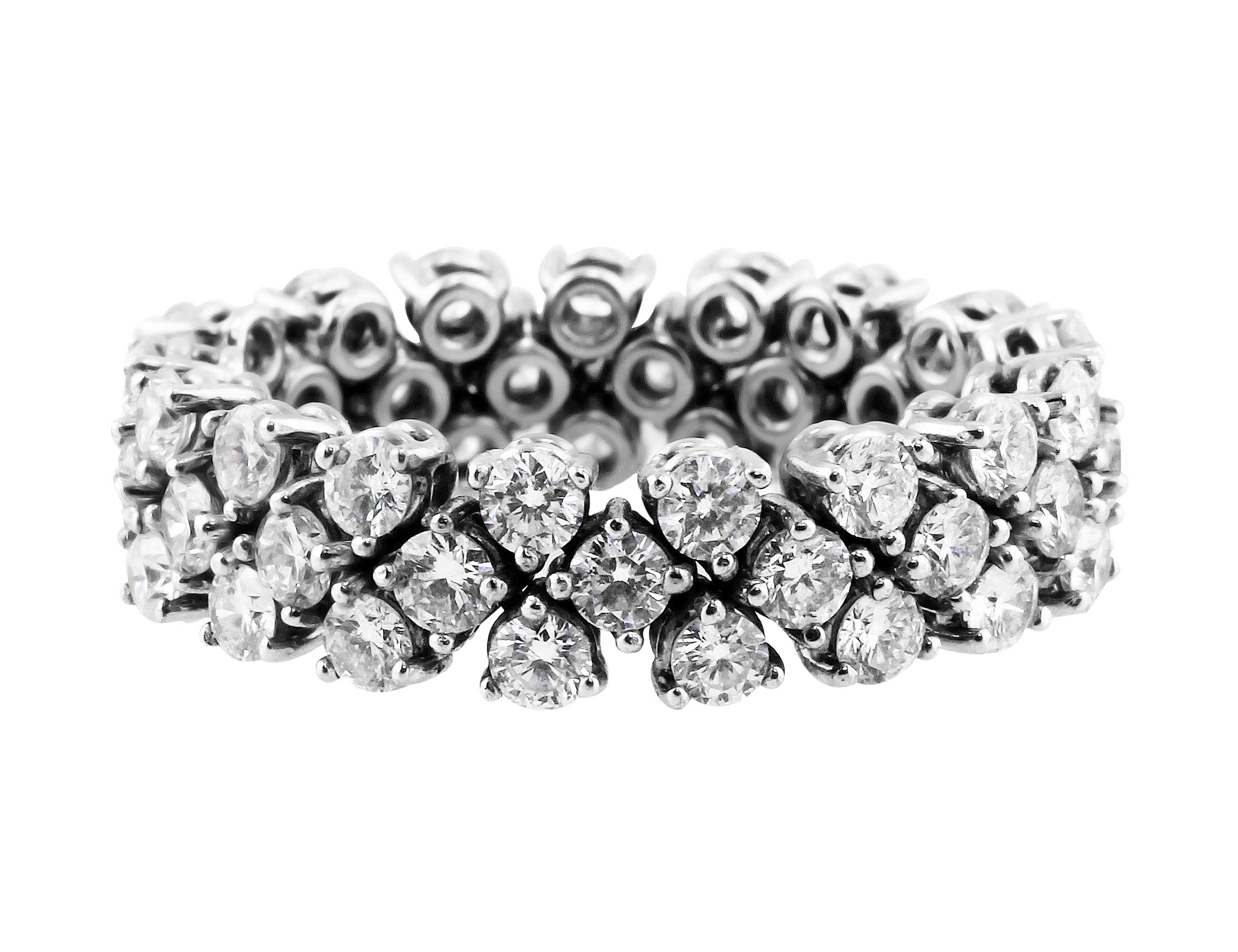 Riviera Flexible Eternity Band In 2020 Eternity Bands Band