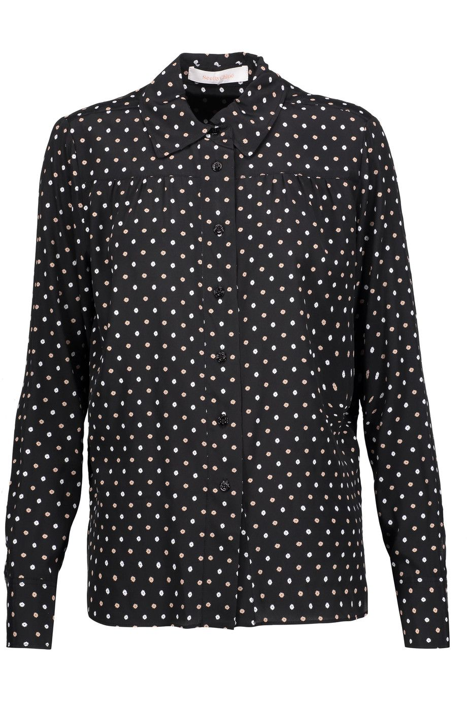 See By Chloé floral-print shirt Clearance Exclusive In China Cheap Online Under 70 Dollars tuSkOJ