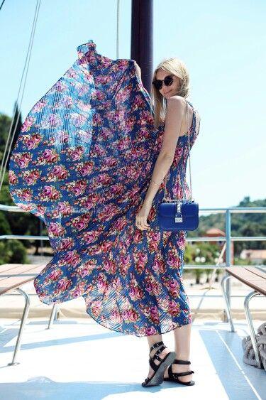 Valentino blue rockstud bag