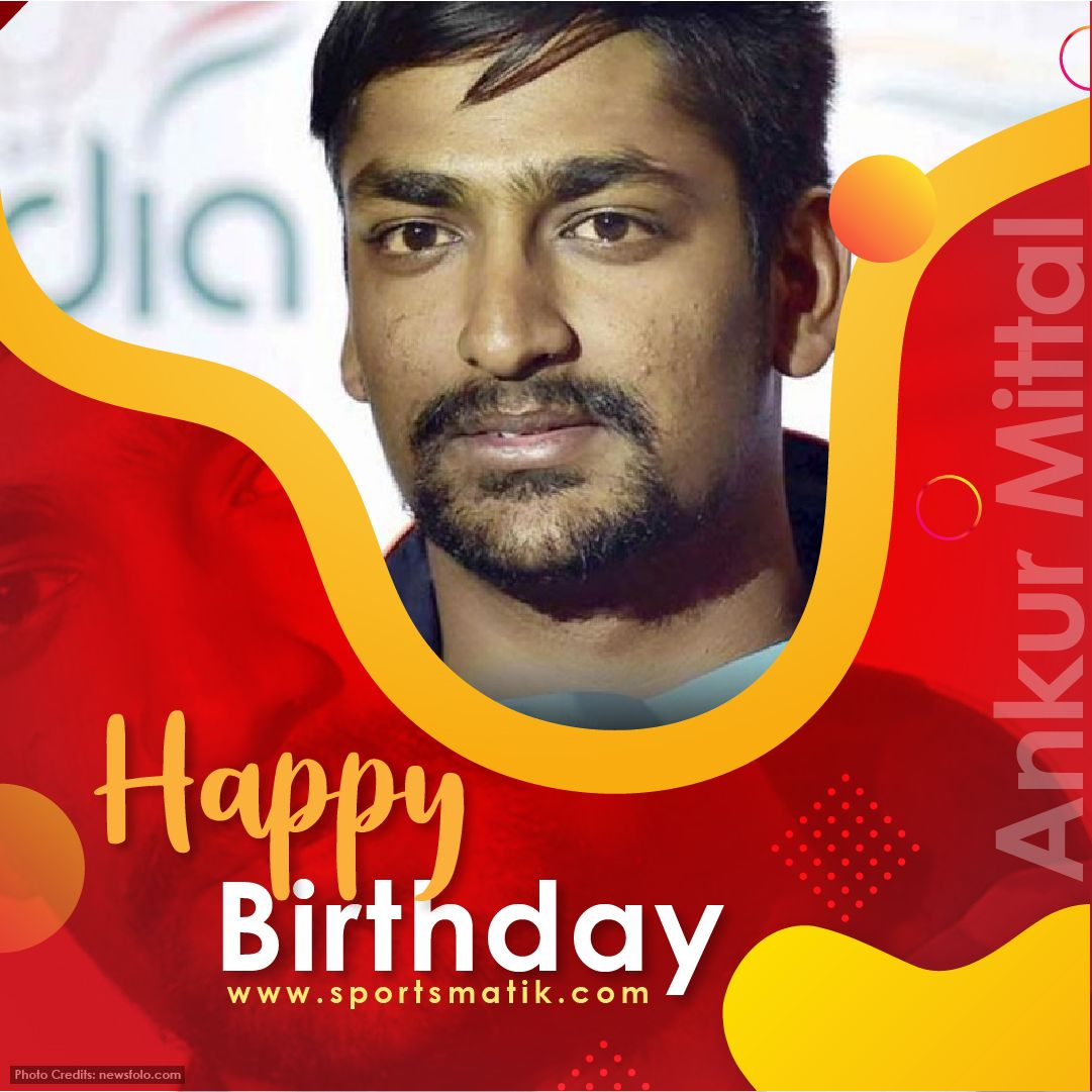 #Sportsmatik wishes #AnkurMittal a very #HappyBirthday, who is a prominent #Shooter who represents #India at international #Shooting events.