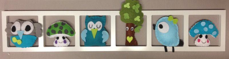 Idée Décoration originale et colorée pour chambre de bébé - bébé