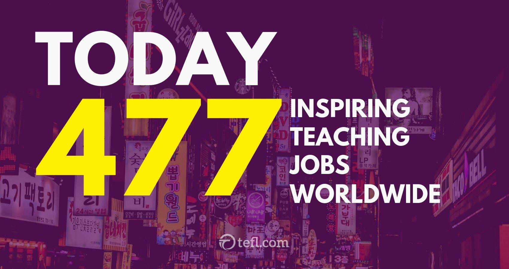 Inspiring worldwide teaching destinations download this