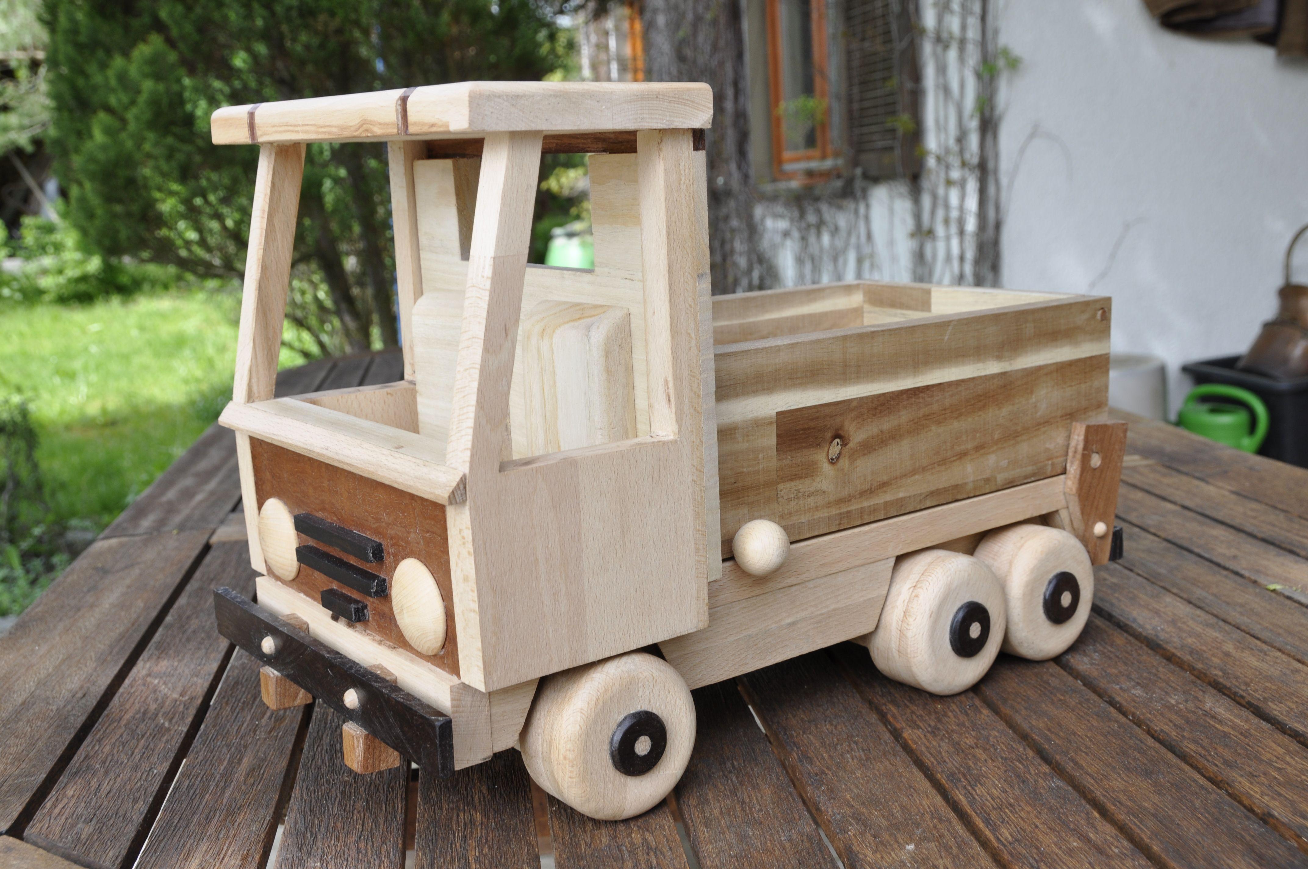 Der Enkel Freut Sich Nr 1 Lastwagen Bauanleitung Kinder Holz Streichholzschachteln Holzspielzeug
