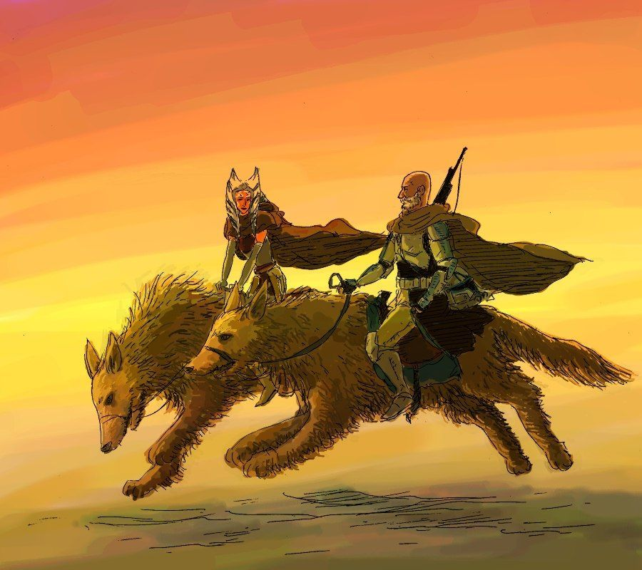 Асока Тано ๏̮͡๏ Ahsoka Tano | Loth wolves are too small in this ...