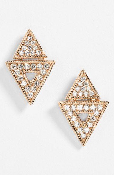 Dana Rebecca Designs Jemma Morgan Diamond Stud Earrings Nordstrom
