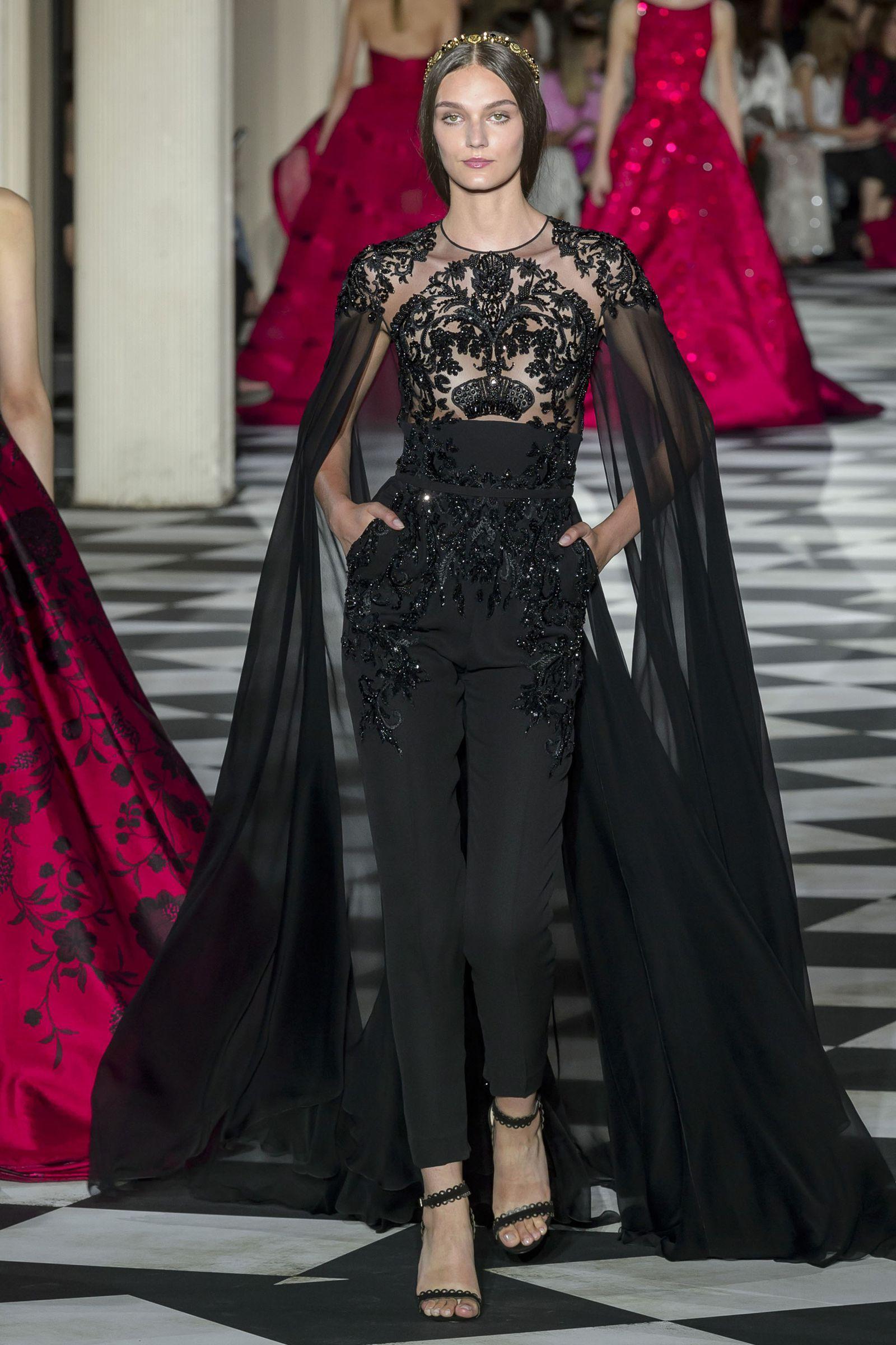 Zuhair Murad autumn/winter 2019 couture collection - HarpersBAZAARUK