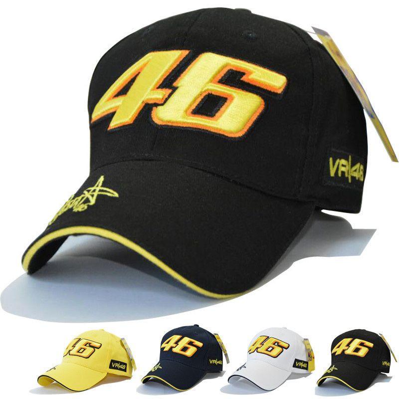 Star Signature Rossi VR46 Baseball Hat Classic Motorcycle Racing Fashion  Hip Hop Cap Snapback    e38f5a7d1523
