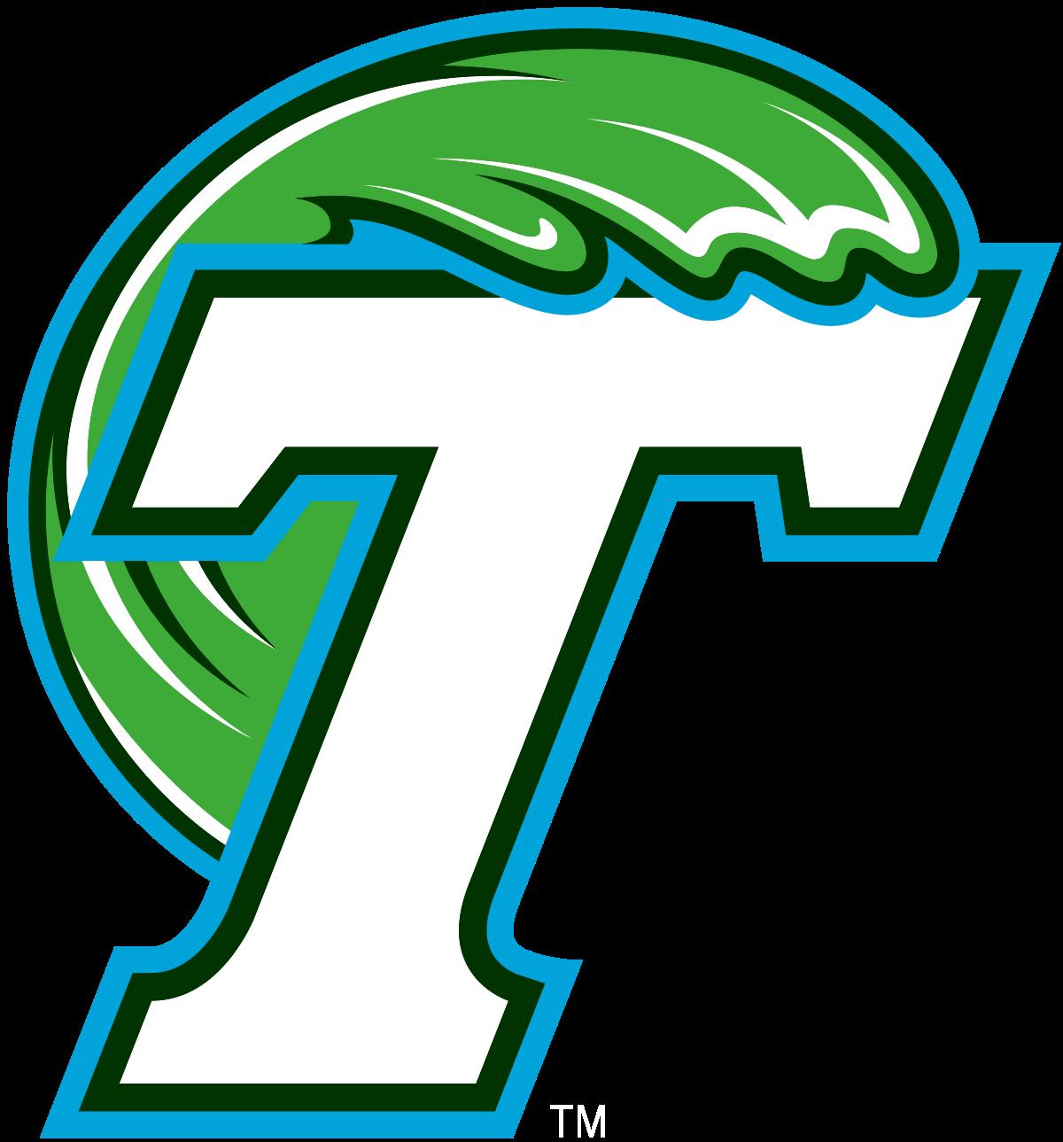 1200px Tulane Green Wave Logo Svg Png 1200 1289 College Football Logos Tulane Sports Logo