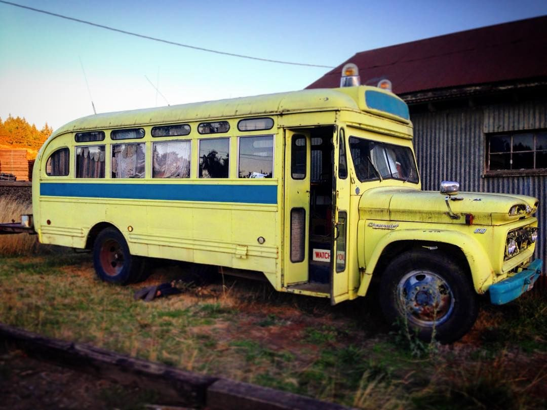 I Want This Bus 1960 Chevy Viking It S Almost As Old As My Mother And Still Runs Oddly It Takes Unleaded Tinyhomes Schoolbus Ti Tiny House Van Life Bus