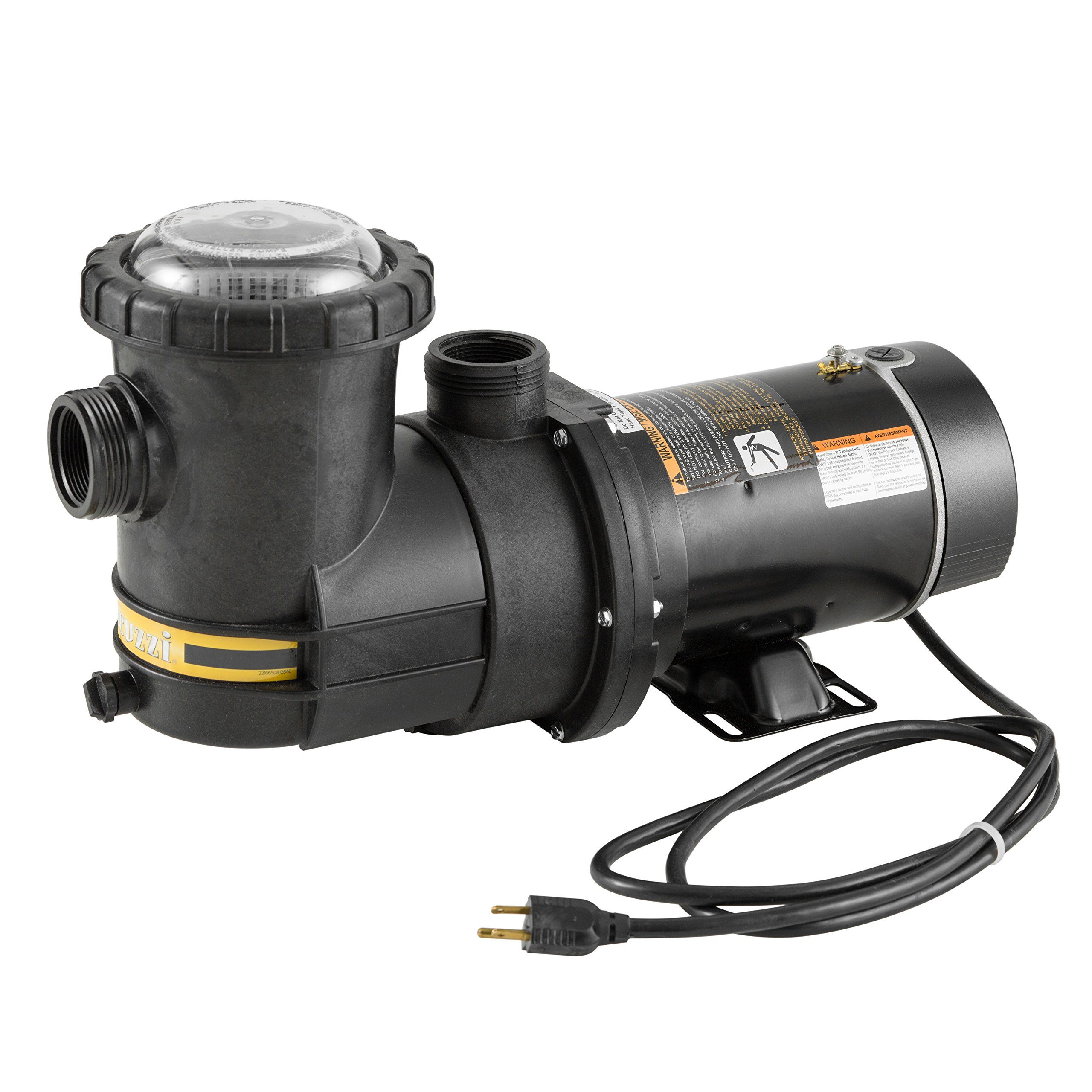 Jacuzzi Pool Pump Not Working Jacuzzi Slr 1 1 2 Hp Above Ground Pool Pump 1 1 2 Horsepower