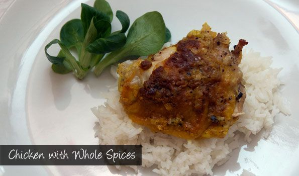 The Delia Project (#43) from Eine Kugel Vanilla: Chicken with Whole Spices