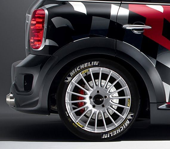 Matte Style: Mini Cooper World Rally Championship 2011