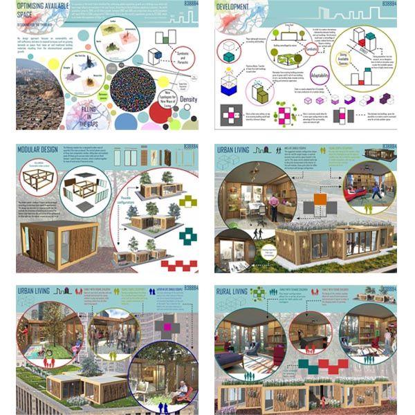 Consistency In Interior Architecture Presentation Boards