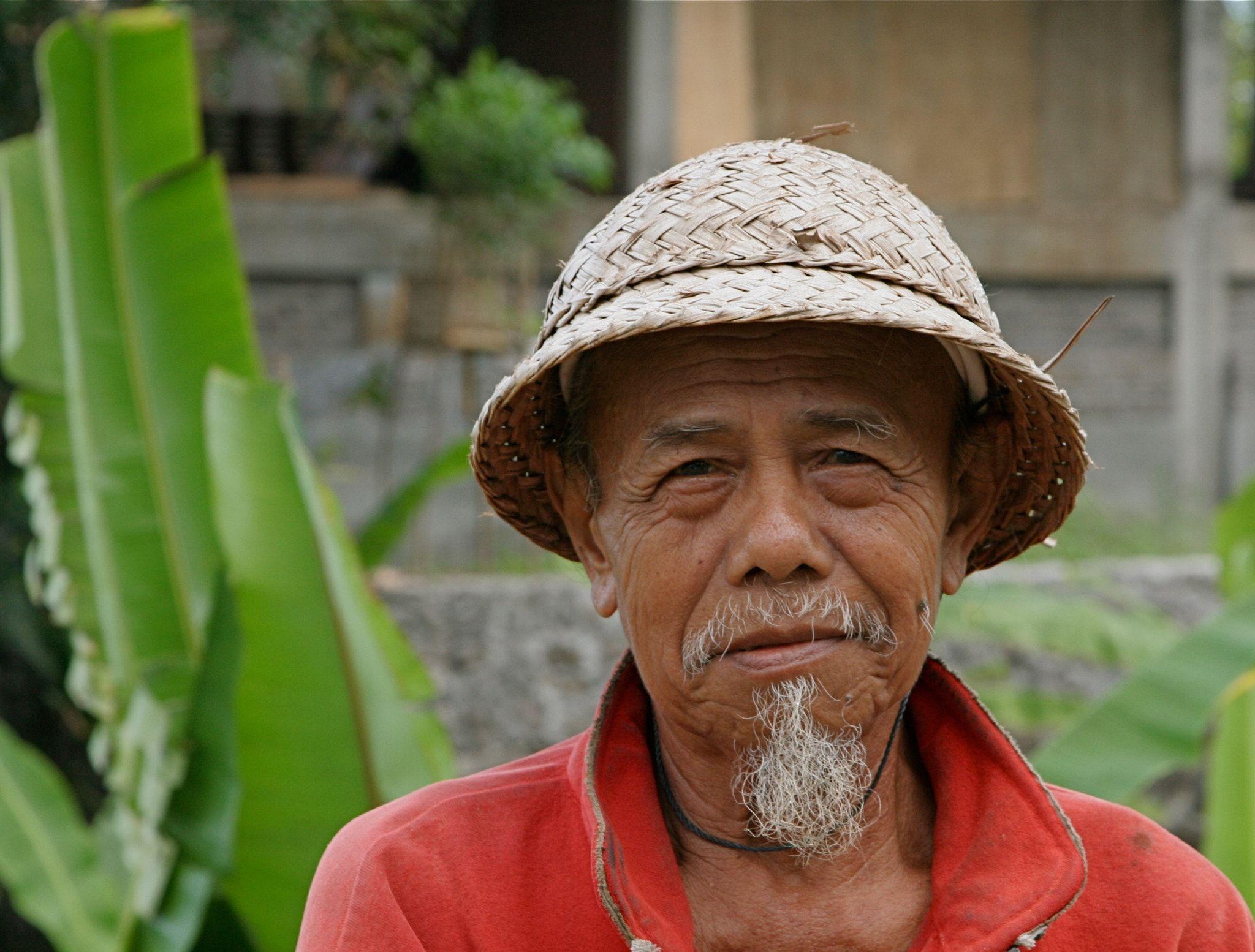 Balinese man -