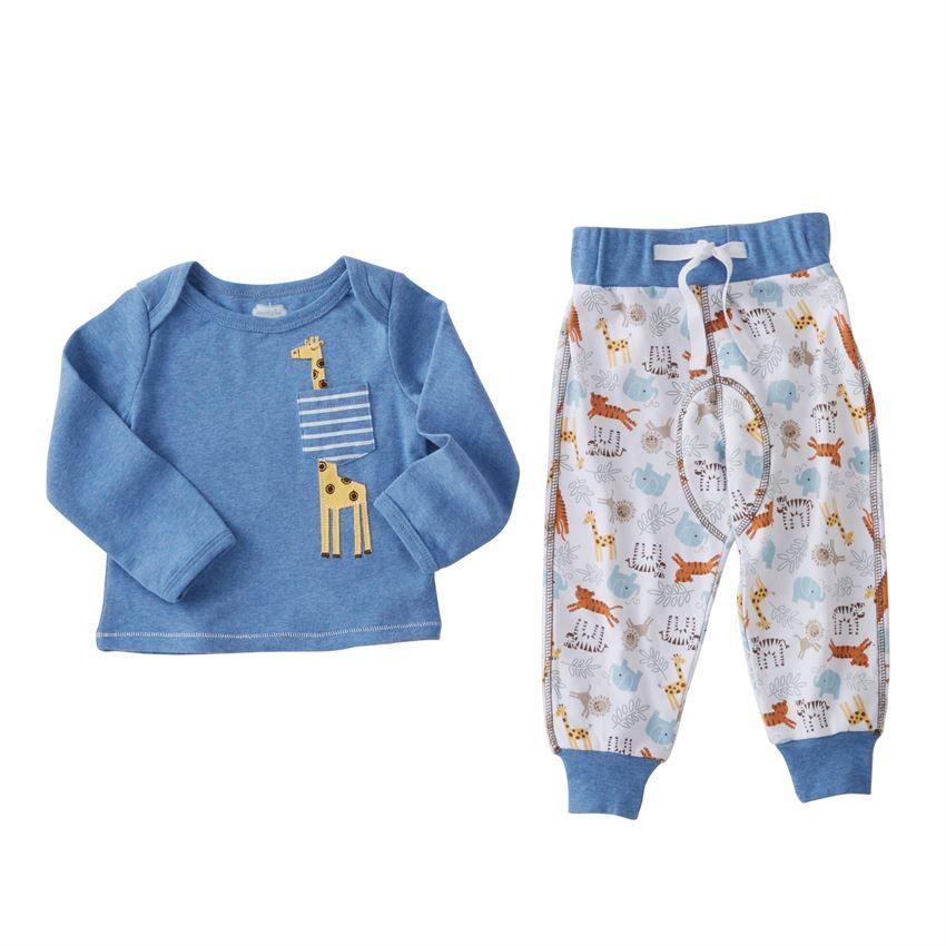 49fa4024f Go Wild Giraffe Two Piece Pant Set | Kid's Spring & Summer Fashion ...
