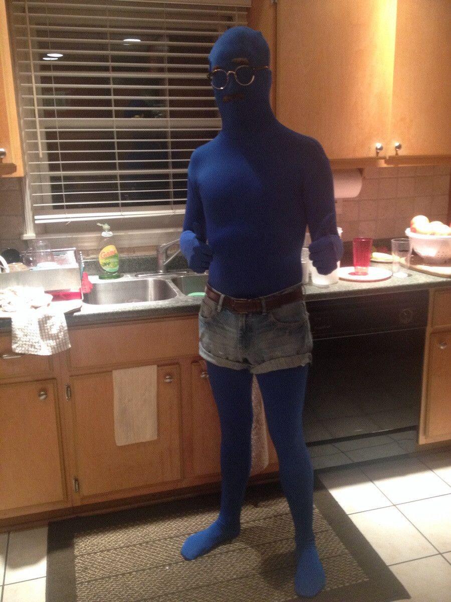 Dad joke Geek costume, Halloween costumes, Blue costumes