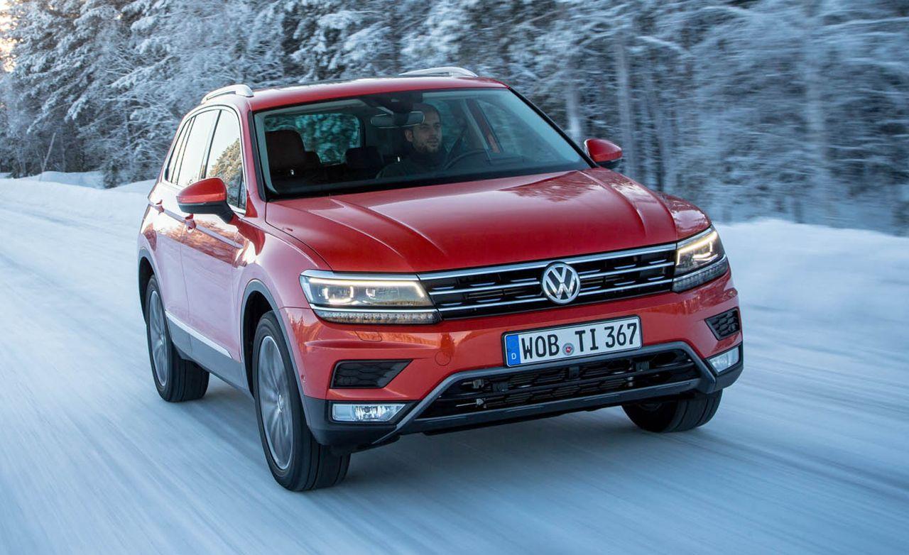 2017 Volkswagen Tiguan AWD Volkswagen, Volkswagen models