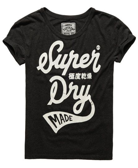 Buy Superdry Women Black Printed Round Neck T Shirt Apparel for Women