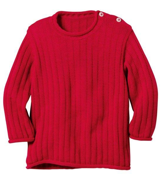 Disana Basic Pullover 100/% Organic Merino Virgin Wool