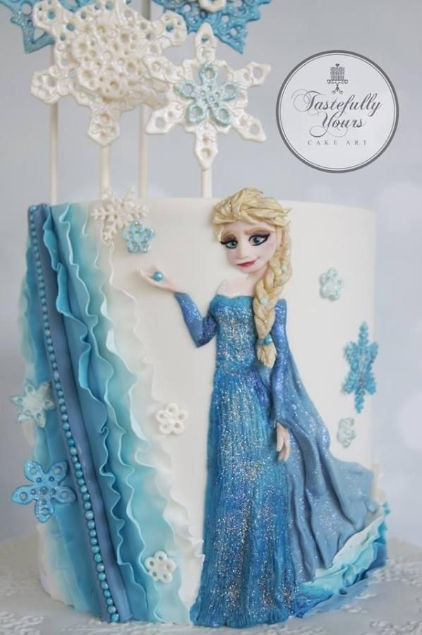 Frozen Movie Cake Toronto