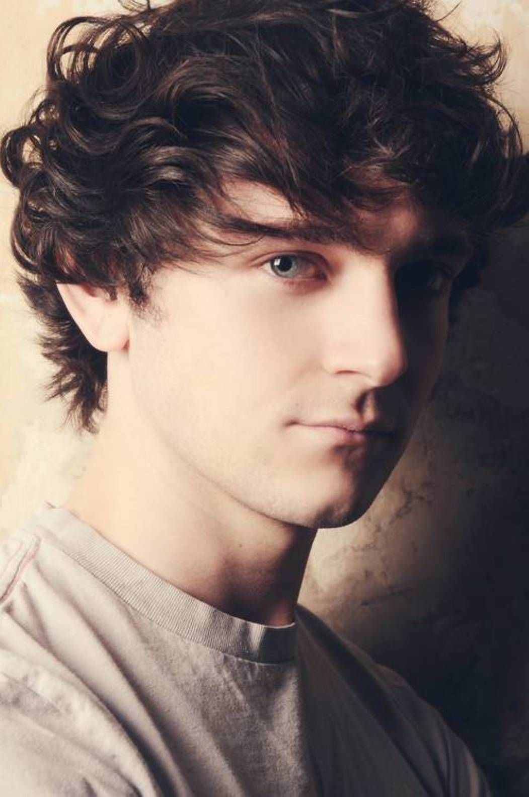 Teenage Curly Hair Styles For Men Teenages Hair VictorHugoHair - Men's hairstyle gallery 2014