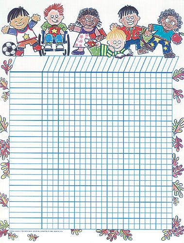 One easy way to keep track of all of your studentsu0027 progress - blank sticker chart