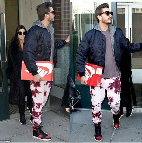 Scott disick fashion style in nyc | Kourtney Kardashian ...