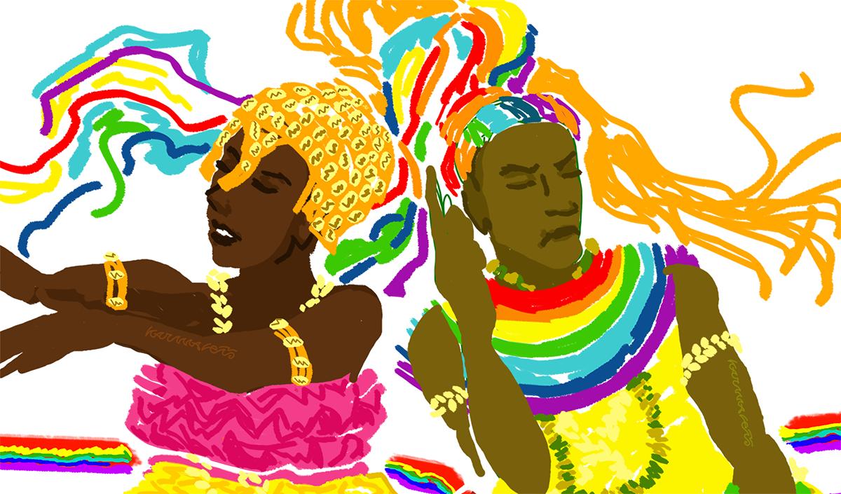 Ijó: a dança dos filhos da serpente on Behance by Karmaleão.  #Ewá. #Yewa, #Oxumarê , #Osumare , #Orisha, #Orixá, #Axé, #Umbanda, #Candomblé