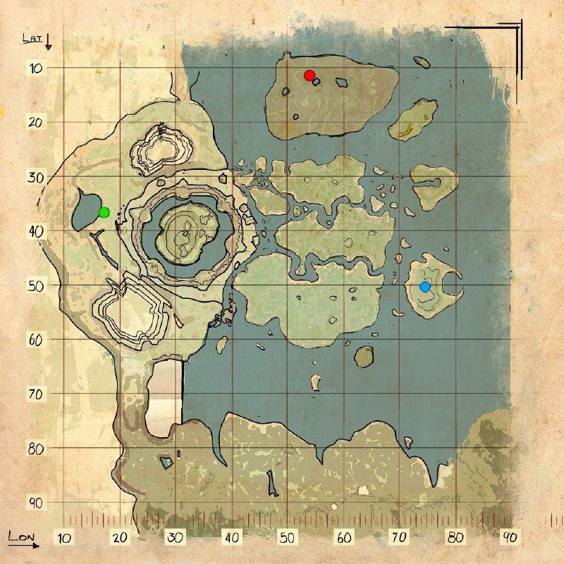 Pin by bashuppertz on map ark Pinterest - new blueprint ark survival